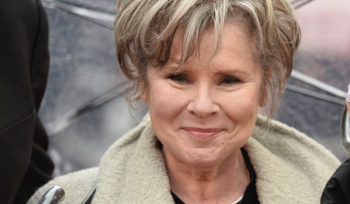 Imelda Staunton nel cast di The Crown 5 di Netflix, qui al The Olivier Awards 2018 a Londra Credits Jeff Spicer e Getty Images