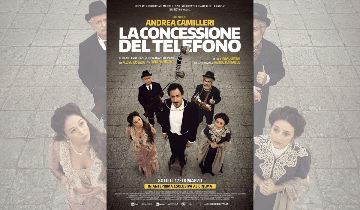 La concessione del telefono film diretto da Roan Johnson e interpretato da Alessio Vassallo in anteprima al cinema il 17 e il 18 marzo 2020 Credits Nexo Digital e RAI