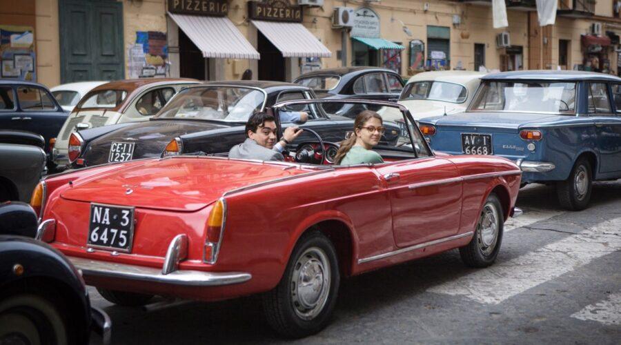 L'amica geniale 2 Storia del nuovo cognome Giovanni Amura e Margherita Mazzucco photo by Eduardo Castaldo Credits RAI e Nexo Digital