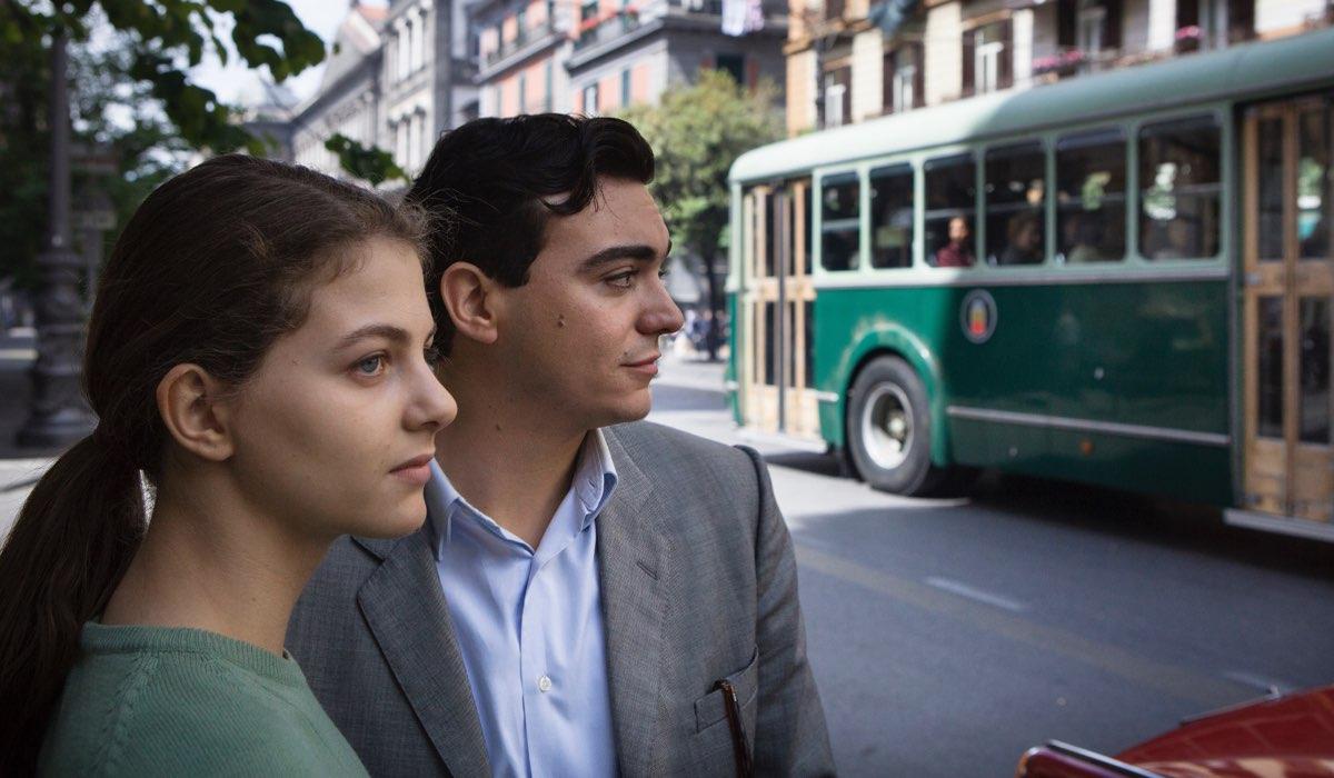 L'amica geniale 2 Storia del nuovo cognome Margherita Mazzucco e Giovanni Amura ph. Eduardo Castaldo Credits RAI e Nexo Digital