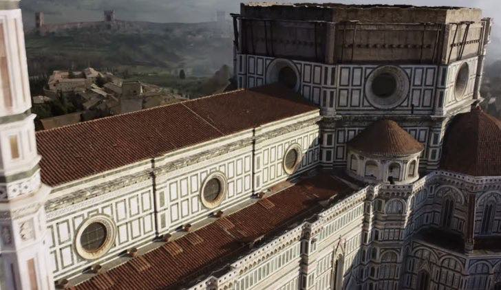 Location da I Medici fiction, Credits Rai