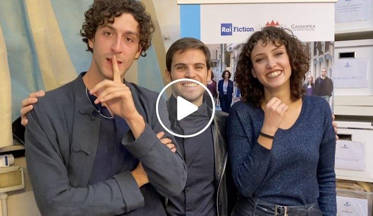 Pezzi Unici intervista a Lorenzo De Moor, Leonardo Pazzagli e Lucrezia Massari