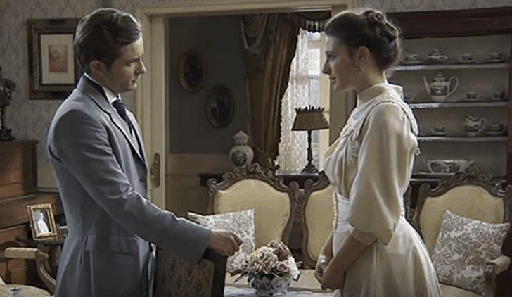 Samuel e Lucia in Una Vita, soap opera Credits Mediaset