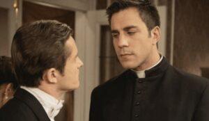 Samuel e Telmo in Una Vita, soap opera spagnola Credits Mediaset