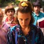 Stranger Things 3 stagione Undici interpretata da Millie Bobbie Brown e i suoi amici Credits Netflix