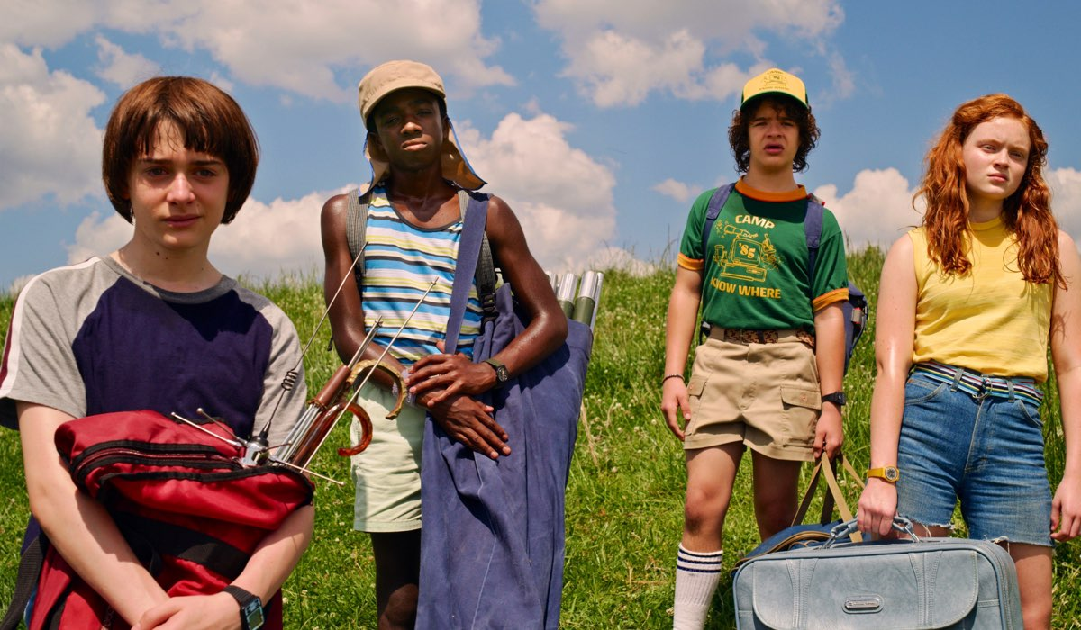 Stranger Things 3 stagione immagini ufficiali Credits Netflix