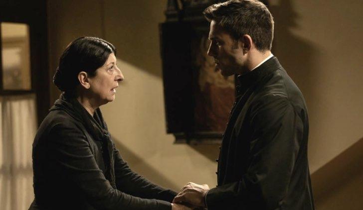 Ursula e Telmo nella soap opera Una vita, Credits Mediaset