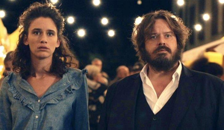 Valentina Bellè e Giuseppe Battison in Volevo fare la rockstar, fiction Credits Rai