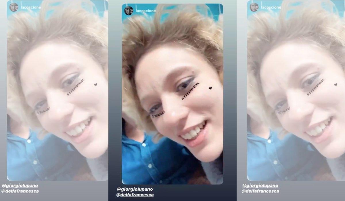 Il Paradiso delle Signore 4 Francesca Del Fa shippa i Cattegaris Instagram Stories di Enrica Pintore del 10 dicembre 2019