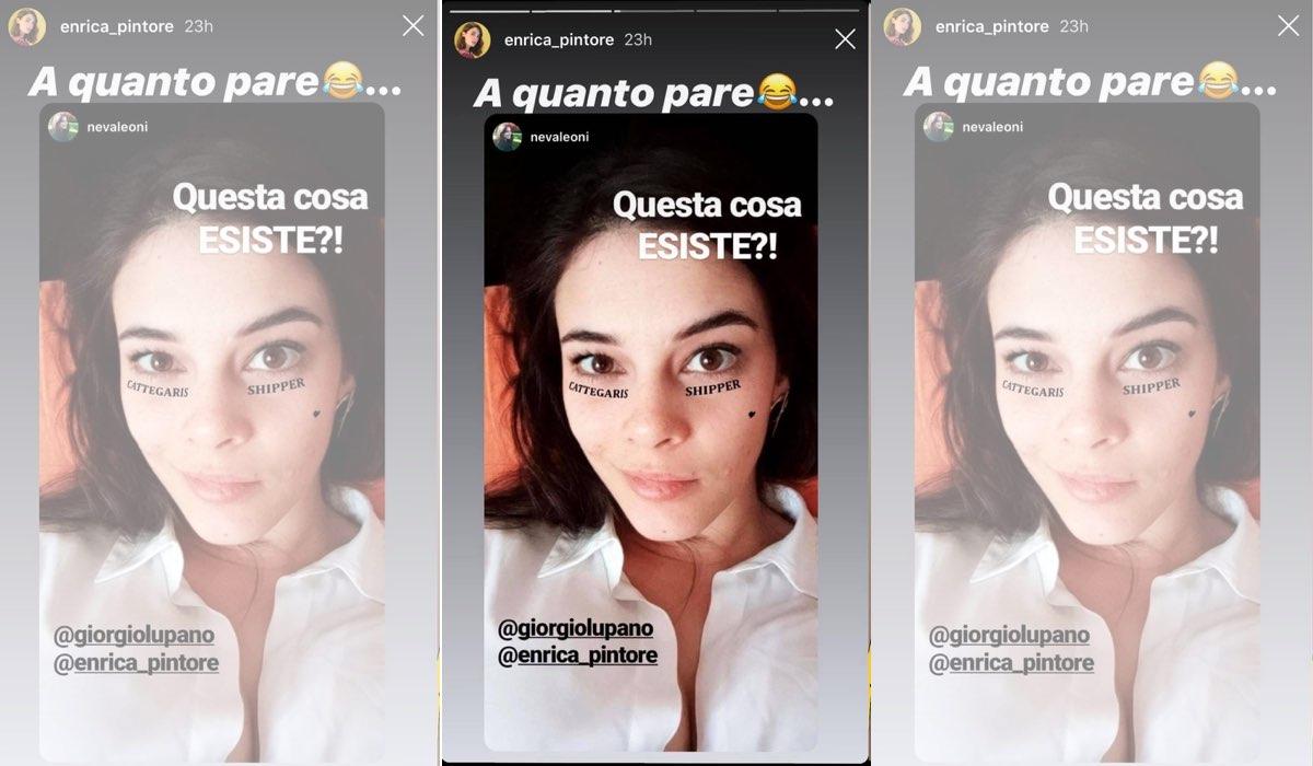 Il Paradiso delle Signore 4 Neva Leoni shippa i Cattegaris Instagram Stories di Enrica Pintore del 10 dicembre 2019
