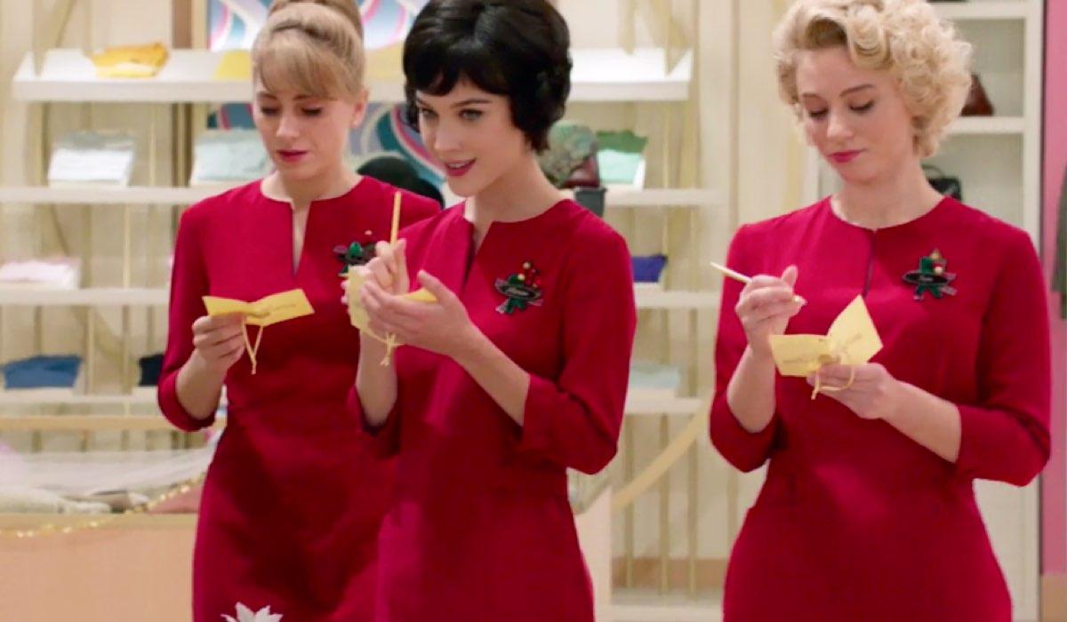 Il Paradiso delle Signore 4 Roberta, Marina e Irene esprimono il loro desiderio per Natale nella puntata 44 Credits RAI