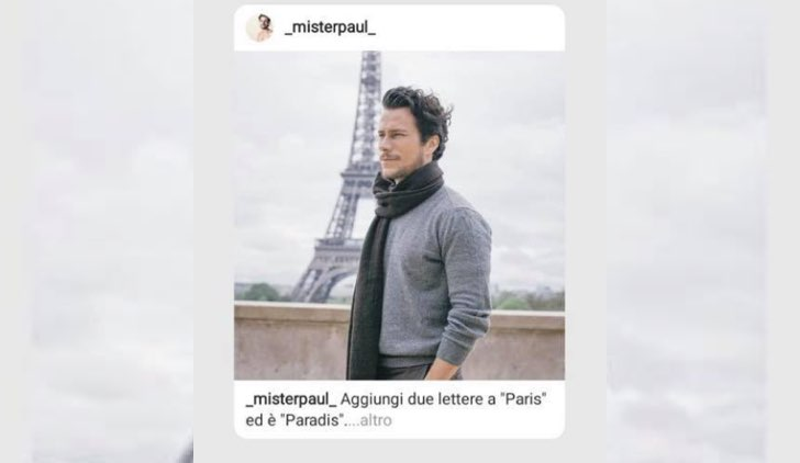 Il Paradiso delle Signore 4 chi è Vincent Defois interpretato da Paolo Bernardini foto pubblicata su Instagram dall attore il 3 ottobre 2019