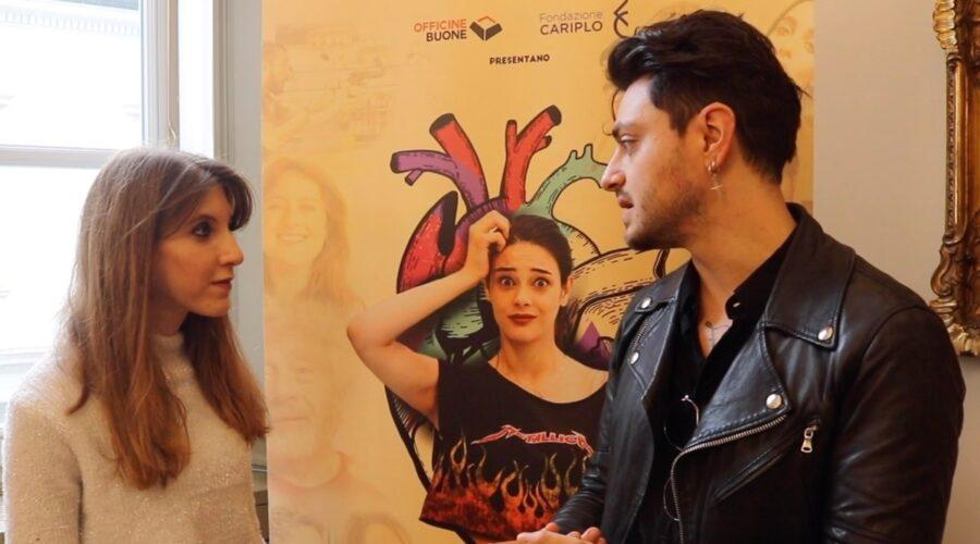 Involontaria intervista al cast, qui Virginio Simonelli che interpreta Virginio