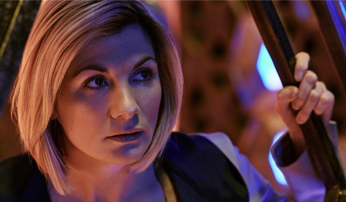Jodie Whittaker in una scena di Doctor Who 12. Credits Rai 4 e BBC
