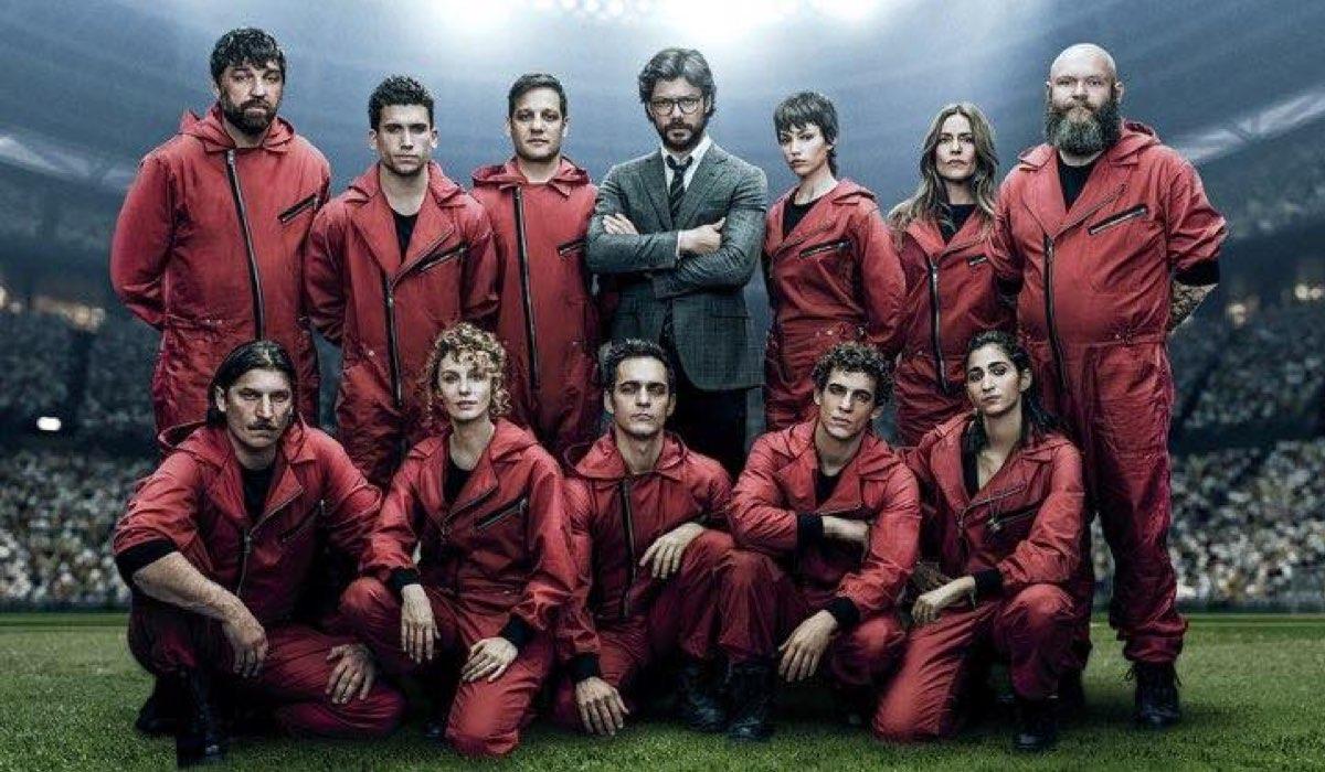 La Casa di Carta 4 uscita su Netflix il 3 aprile 2020, qui cast terza stagione Credits Netflix