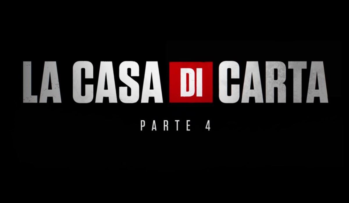 La Casa di Carta 4 uscita su Netflix il 3 aprile 2020, qui. screenshot annuncio esordio Credits Netflix