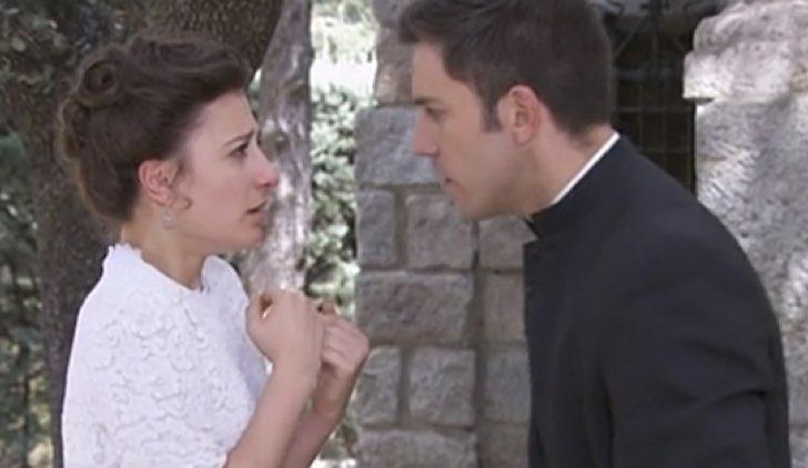 Lucia e Telmo in una Vita, soap opera spagnola Credits Mediaset