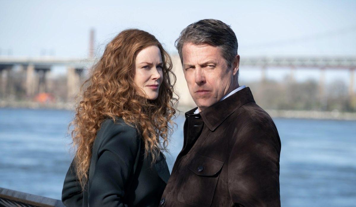 Nicole Kidman e Hugh Grant. Credits Niko Tavernise HBO via Sky Italia