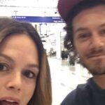 Rachel Bilson con Adam Brody in uno scatto pubblicato dall attrice su Instagram lo scorso agosto
