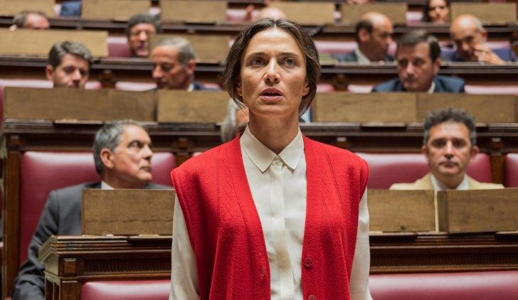 Storia di Nilde con Anna Foglietta nel ruolo di Nilde Iotti Credits RAI