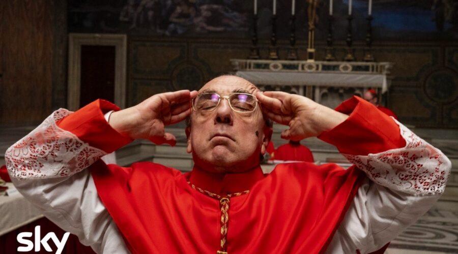 The New Pope Il Cardinal Voiello interpretato da Silvio Orlando Credits SKY