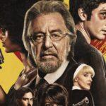 Al Pacino protagonista di Hunters nel poster della serie. Credits Amazon Prime Video