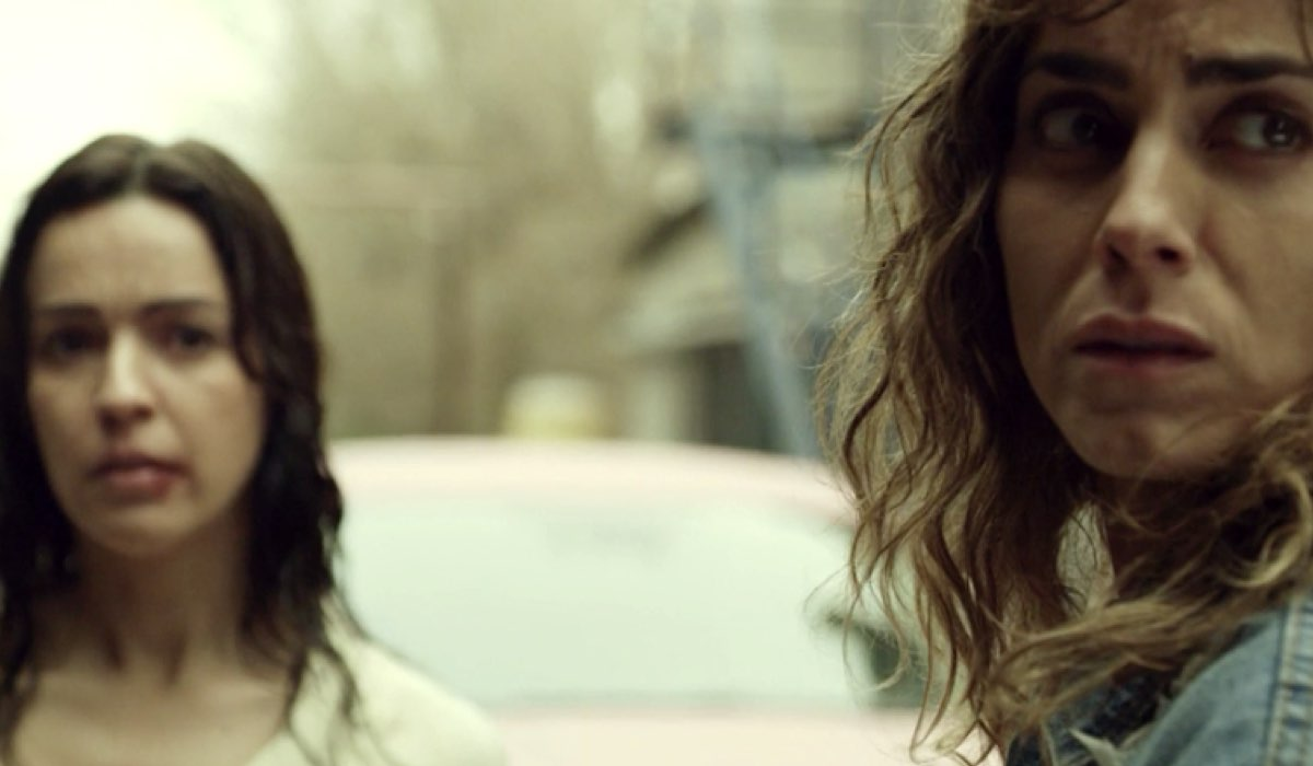 Alex e Veronica ne Il molo rosso 2, Credits Movistar+ e RAI