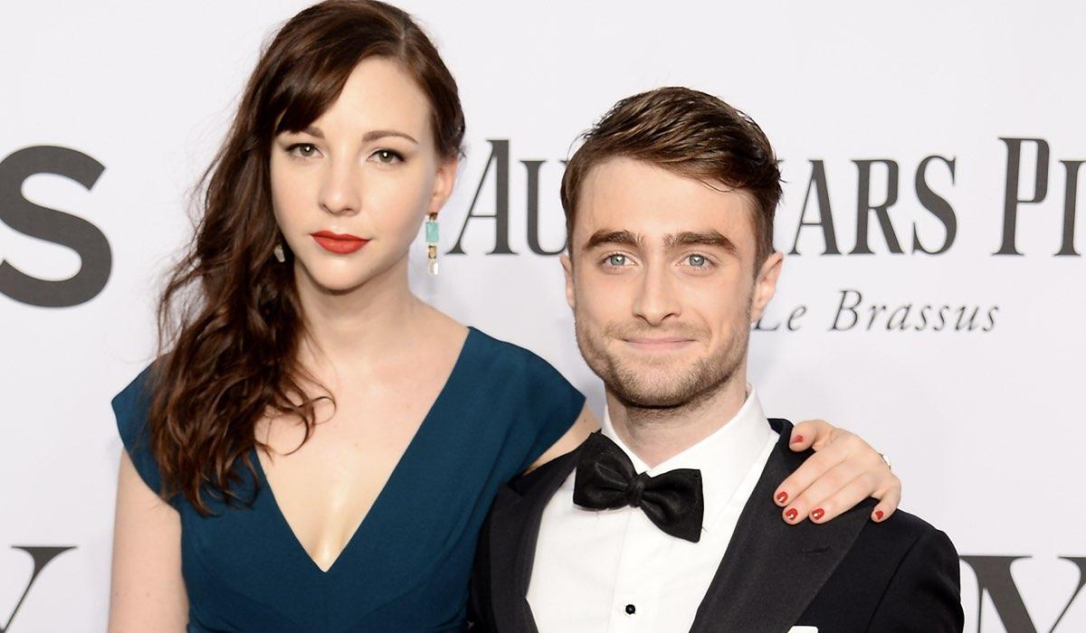 Erin Darke and Daniel Radcliffe Credits Dimitrios Kambouris e Getty Images