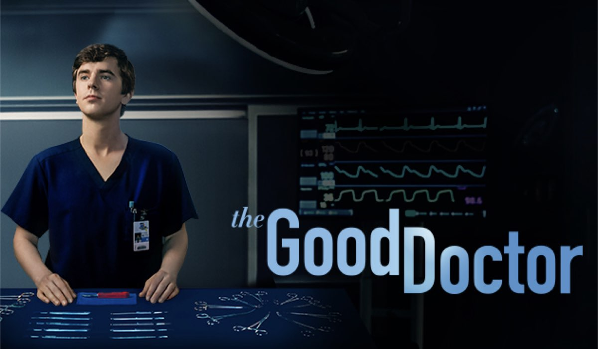 Freddie Highmore nei panni del dottor Shaun Murphy in The Good Doctor 3. Credits ABC/Sony TV/Rai Due