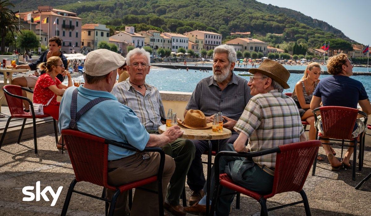 I Delitti del BarLume 7 girato all'Isola D'Elba foto da SKY photocredit Sky e Antonello&Montesi