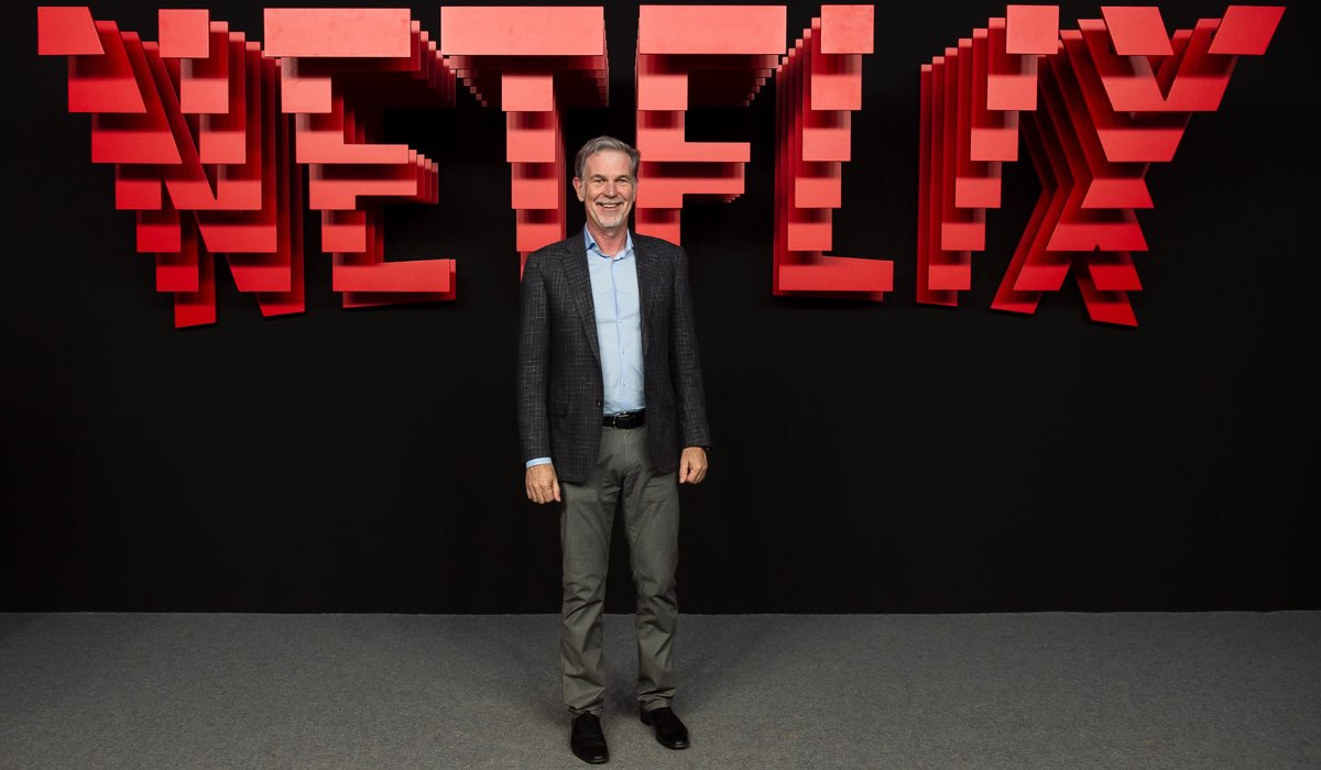 Il CEO di Netflix Reed Hastings a un evento a Madrid nel 2019 Credits foto di Juan Naharro Gimenez e Getty Images for Netflix