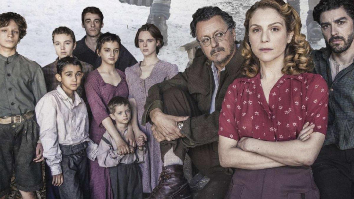 Il Cast de La guerra è finita, fiction diretta da Michele Soavi, Credits Rai