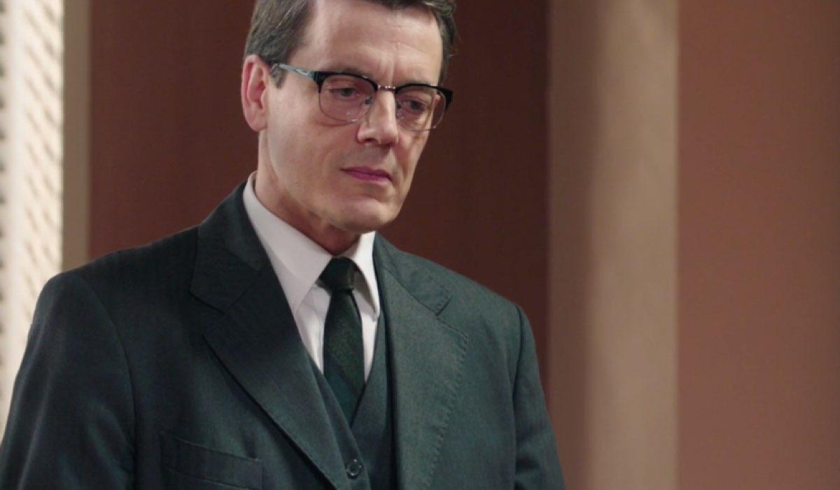 Il Paradiso delle Signore 4 Luciano Cattaneo interpretato da Giorgio Lupano nella puntata 72 Credits RAI