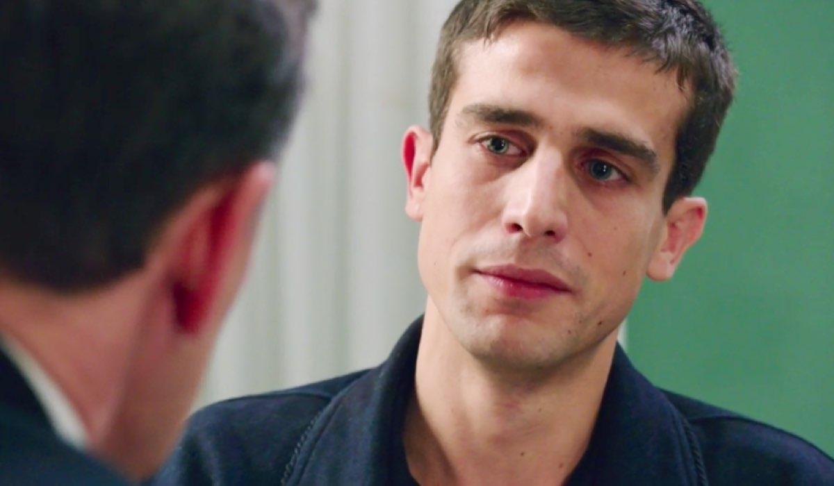 Il Paradiso delle Signore 4 Luciano interpretato da Giorgio Lupano e Federico interpretato da Alessandro Fella nella puntata 72 Credits RAI