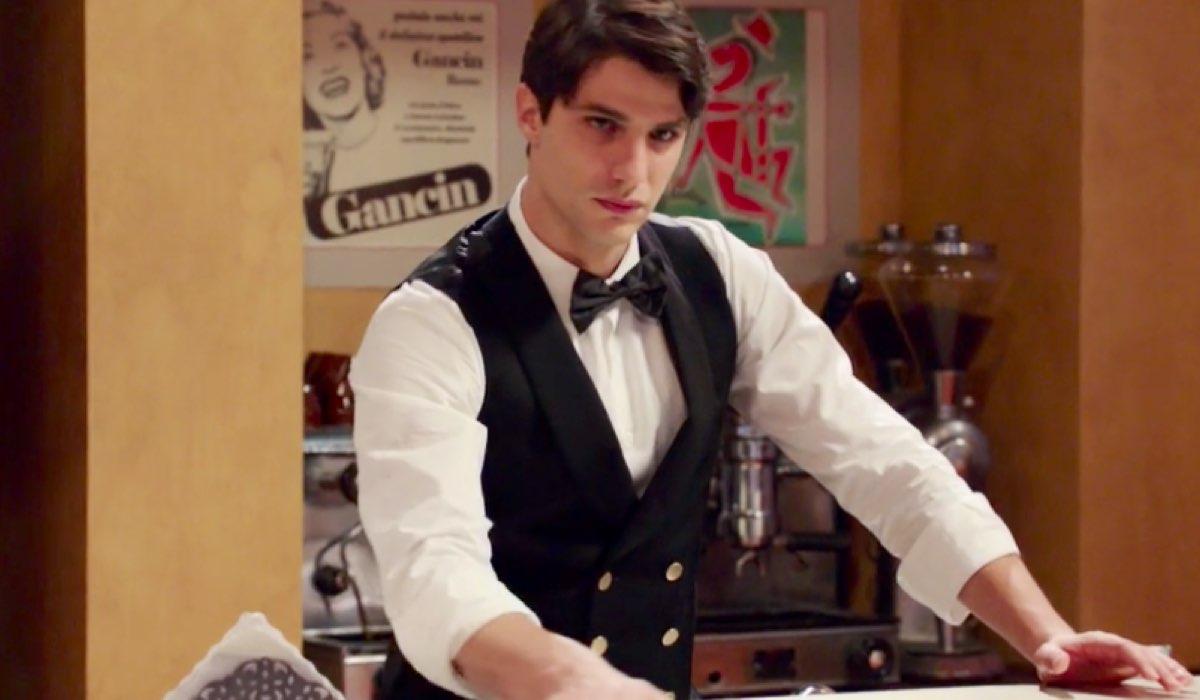 Il Paradiso delle Signore 4 Marcello Barbieri in Caffetteria nella puntata 44 Credits RAI