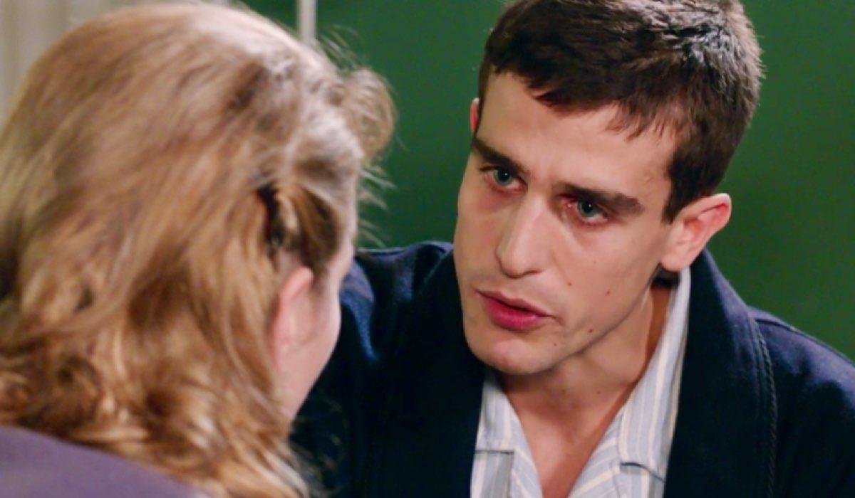 Il Paradiso delle Signore 4 Roberta e Federico interpretati da Federica De Benedittis e Alessandro Fella nella puntata 70 Credits RAI