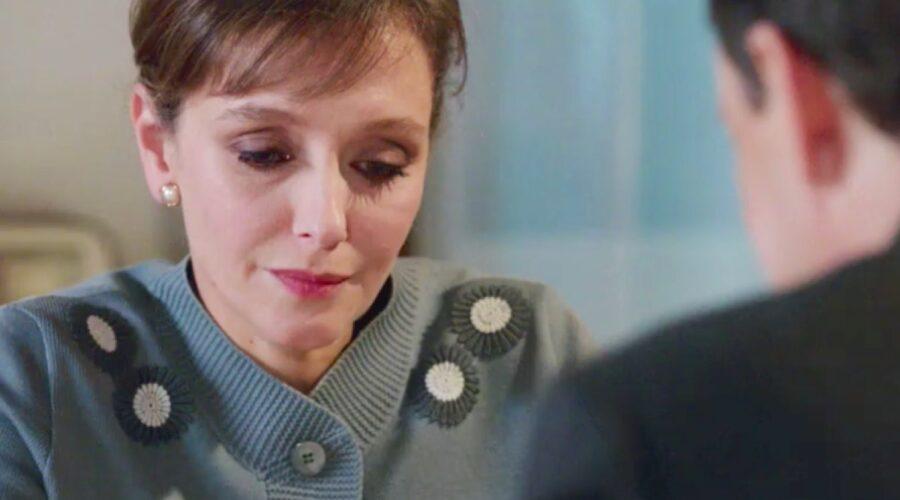 Il Paradiso delle Signore 4 Silvia Cattaneo interpretata da Marta Richeldi e Luciano Cattaneo interpretato da Giorgio Lupano nella puntata 67 Credits RAI