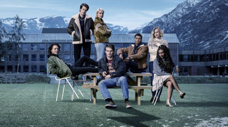 Il poster coi protagonisti di Ragnarok. Credits Christian Geisnæs/Netflix