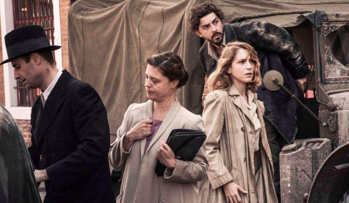 La guerra è finita fiction su Rai Uno dal 13 gennaio 2020 per la regia di Michele Soavi Credits RAI