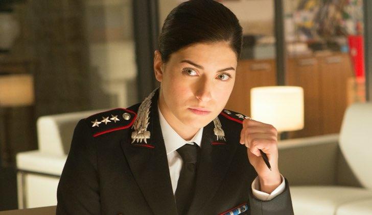 Maria Chiara Giannetta è Anna Olivieri in Don Matteo 12, Credits Rai