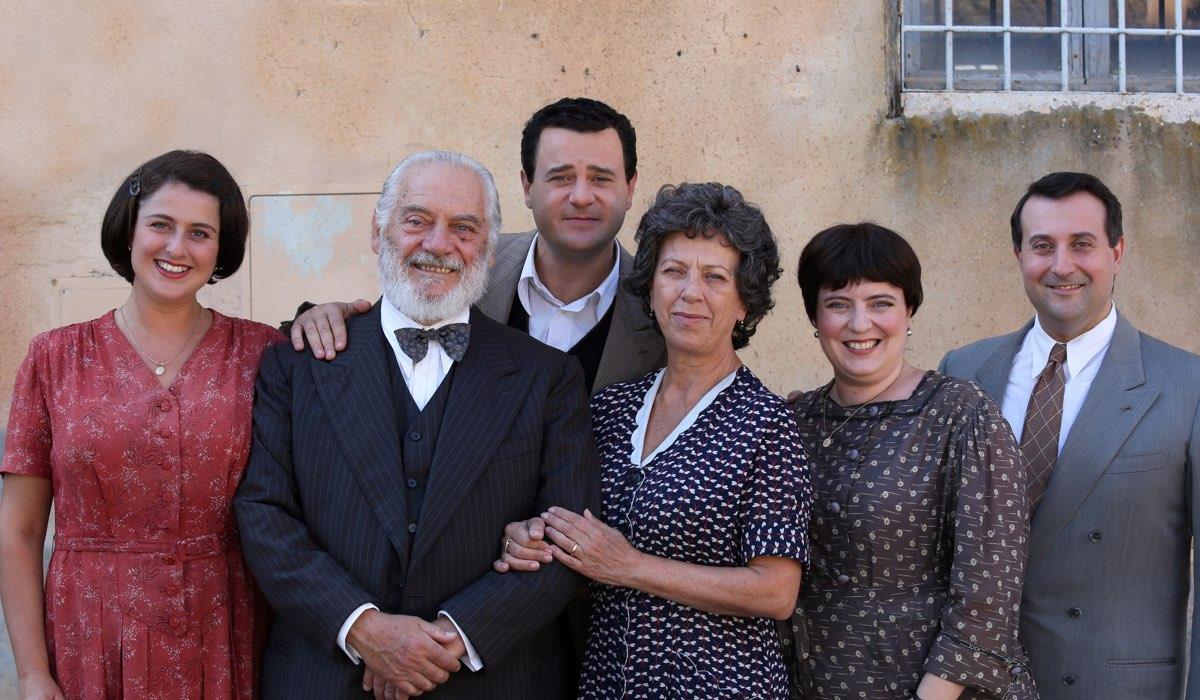 Permette Alberto Sordi film tv per rendere omaggio a Alberto Sordi, qui la famiglia Sordi al completo Credits RAI e Ocean Productions