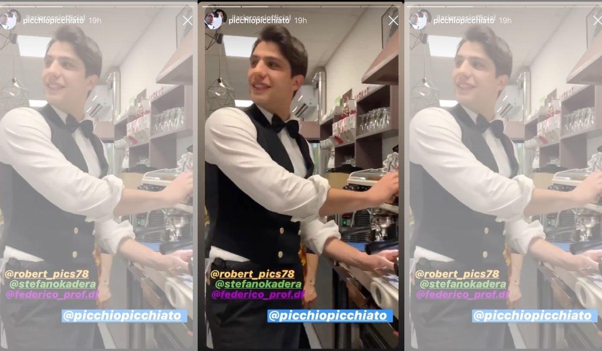 Pietro Masotti ricondivide le Stories di Ilaria Rossi sul suo account Instagram il 20 gennaio 2020 commentanto Il Paradiso delle Signore 4 Credits Ilaria Rossi e Pietro Masotti