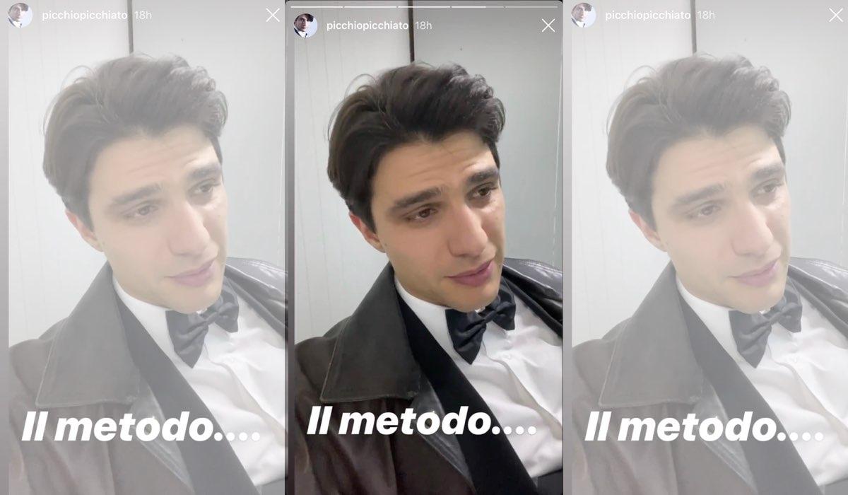 Pietro Masotti ricondivide le Stories di Ilaria Rossi sul suo profilo Instagram il 20 gennaio 2020 commentanto Il Paradiso delle Signore 4 Credits Ilaria Rossi e Pietro Masotti