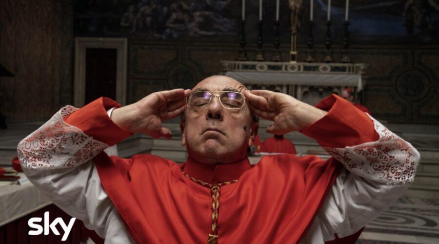 Silvio Orlando nei panni del Cardinal Voiello in The New Pope. Photo Credits Gianni Fiorito Sky