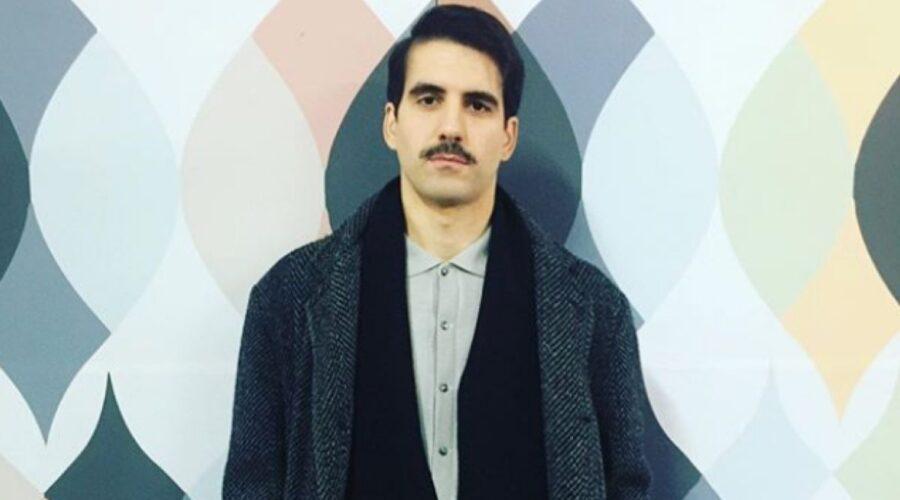 Valerio Ricci sul set de Il Paradiso delle Signore 4 a novembre 2019 foto pubblicata sul suo profilo Instagram valerioricciofficial