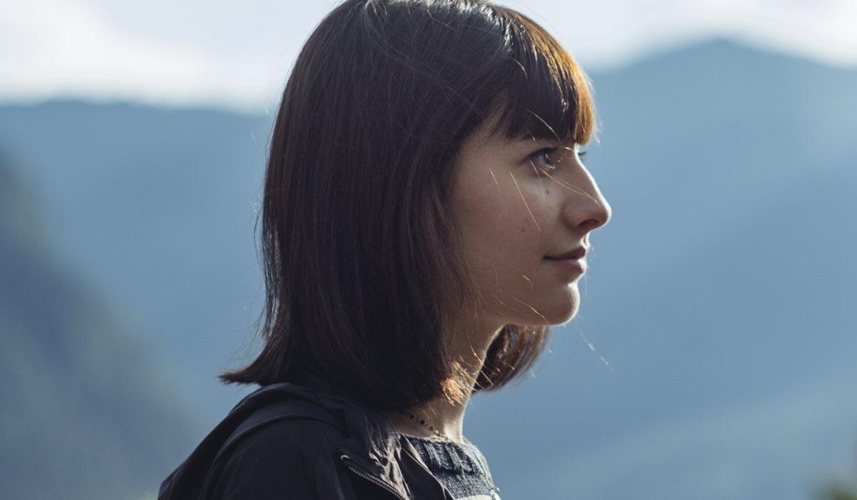 Caterina Signorini è Giulia Manzelli in Vite in fuga Credits RAI