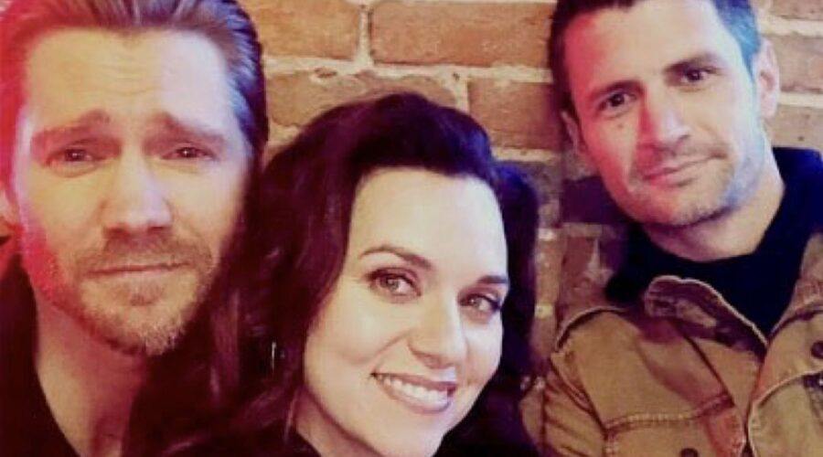 Chad Michael Murray Hilarie Burton e James Lafferty Instagram