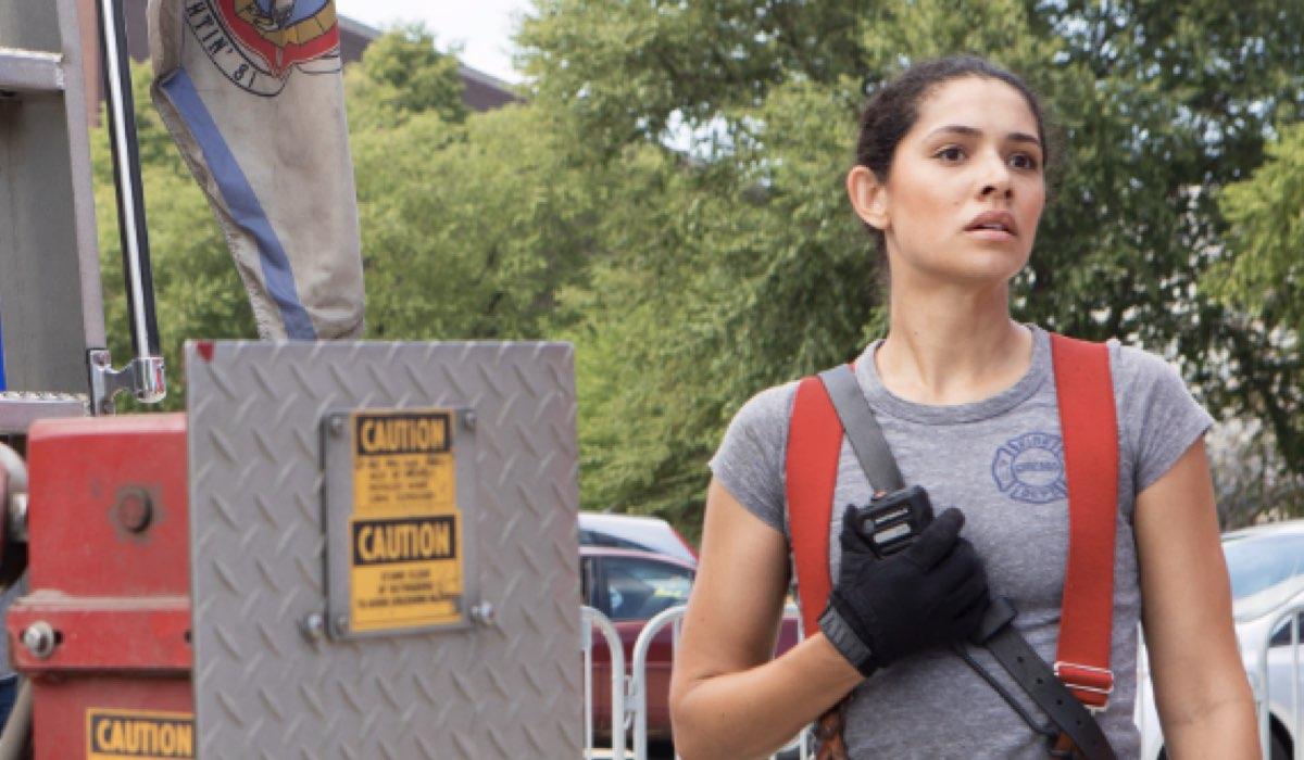 Chicago Fire 8 stagione Episodio 3 in onda su Premium Action in prima tv in Italia il 26 febbraio 2020 Credits NBC e Mediaset