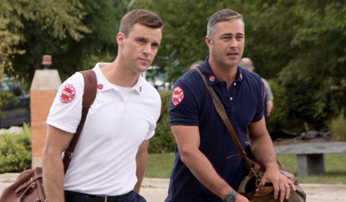 Chicago Fire 8 stagione Episodio numero 3 in onda su Premium Action in Italia il 26 febbraio 2020 in prima tv Credits NBC e Mediaset