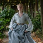 Elle Fanning in una foto di The Great. Credits Starzplay Italia